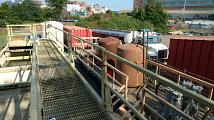 On-site treatment plant start up - Neptune, NJ