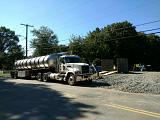 Tire wash gas pipeline - Jamesburg NJ